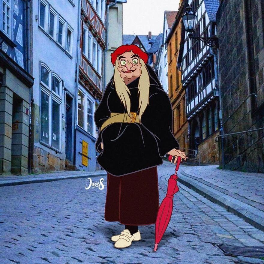 Queen Grimhilde (Witch)
