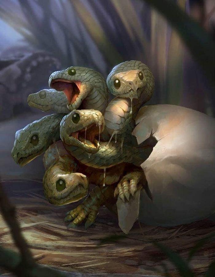 Hydra Snakelet