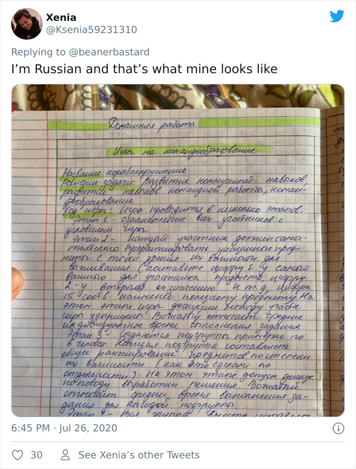 If You Thought Your Handwriting Was Hard To Read, Russian Cursive Writing Examples From This Thread Will Prove You Wrong