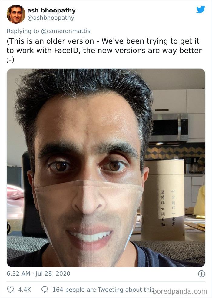 Face Mask Fail