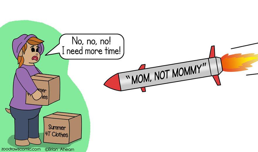 """Mom"" Not ""Mommy"""