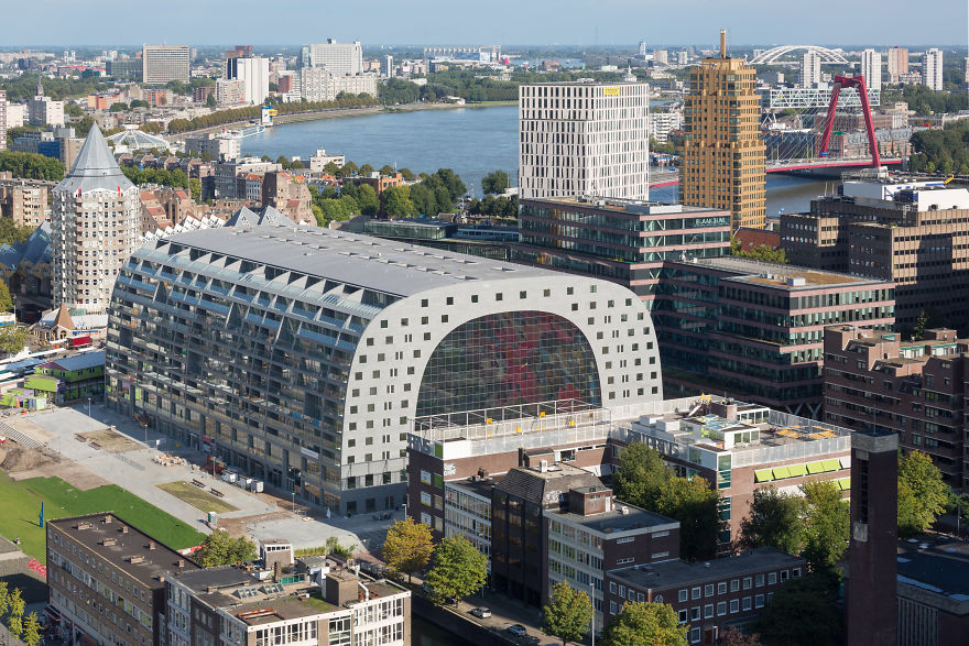 6 Years Ago, I Designed A Huge Digital Mural For Rotterdam's Markthal And It's Still The Craziest Project In My Career