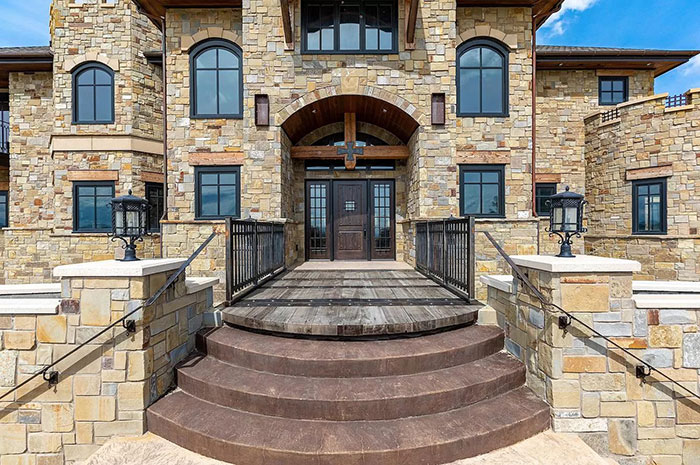 This Majestic 30,843-Square-Foot 'Castle' Sells For $13.95 Million And It Even Has A Fitness Center And Indoor Shooting Range