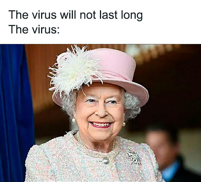 The Virus Will Not Last Long