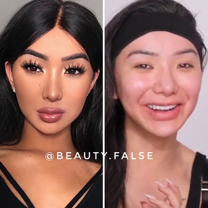 This Instagram Account Exposes Influencers Who Lie About Their True Appearance (30 Pics)