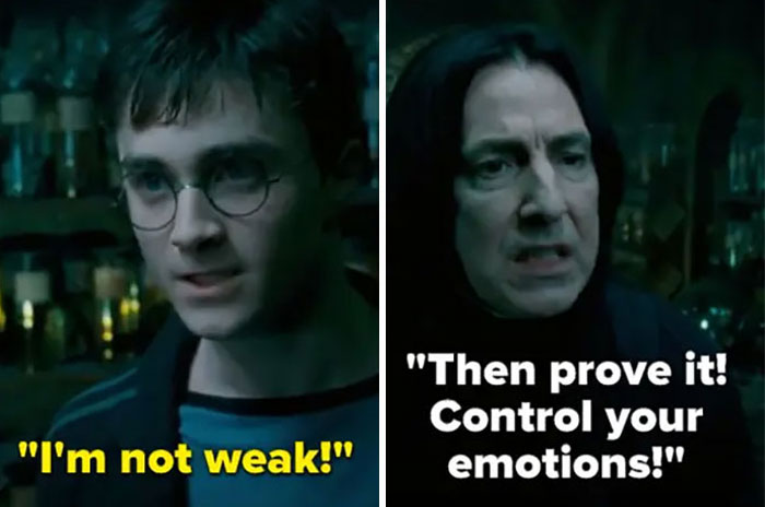 In Order Of The Phoenix, Snape Teaches Harry Occlumency And Says A Bunch Of Mean (And Likely True) Stuff About His Dad. It Quickly Becomes Clear He's Provoking Harry In Order To Prove A Point About How He's Vulnerable To Voldemort