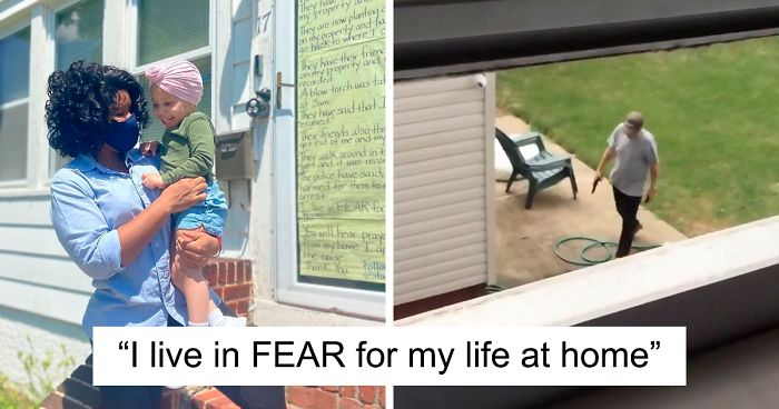 Black Mom Puts Up A Sign About How Her White Neighbors Are Harassing Her, The Local Community Steps Up