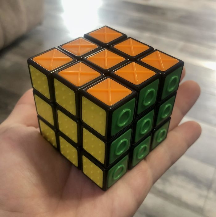 A Rubik's Cube For The Blind