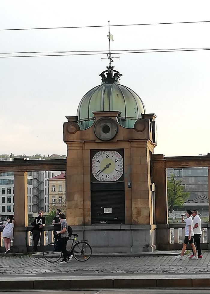 Clock Thing Numbered 0 Through 5 Found In Prague, Czech Republic. What Is This Thing?