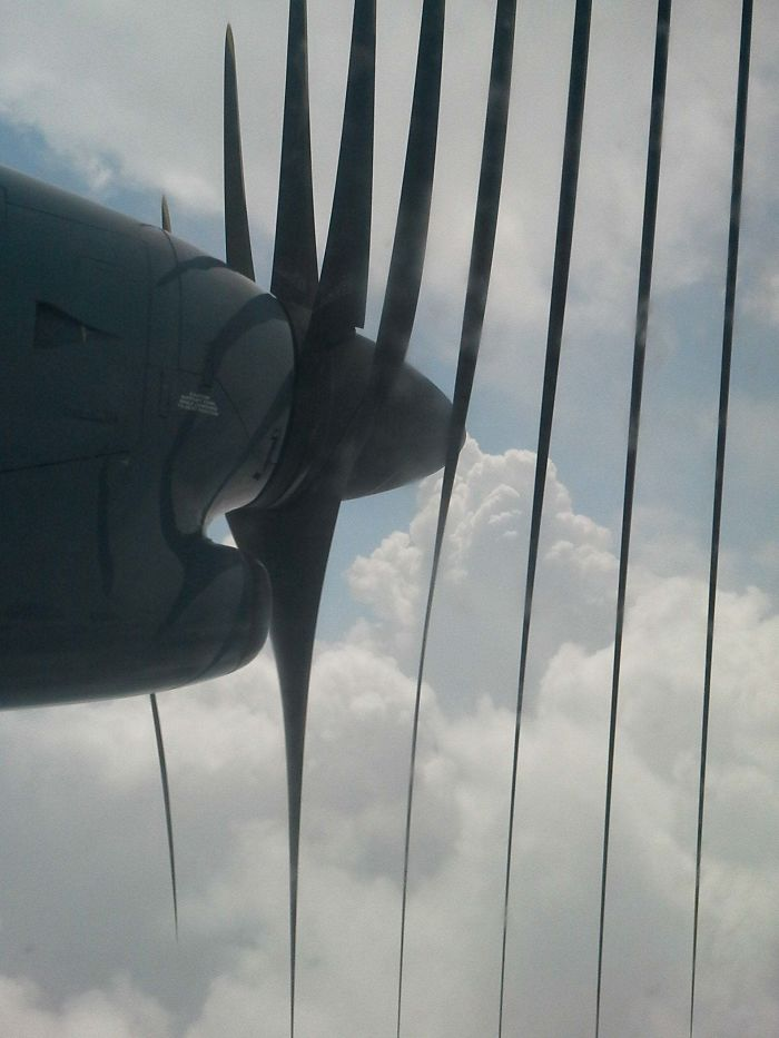 What Happened When I Tried To Take A Picture Of An Airplane Propeller