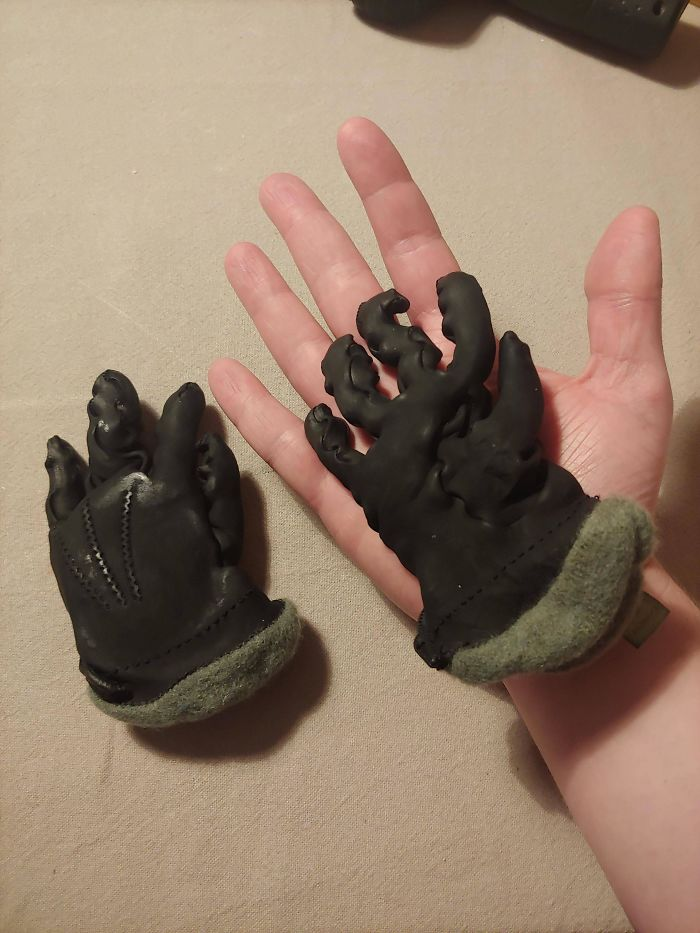 I Accidentally Put My Leather Gloves In The Washing Machine