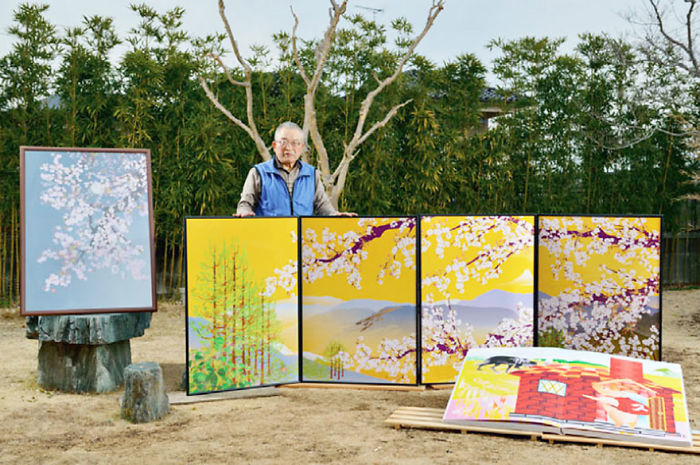 80-Year-Old Man Masters Excel To Create Amazing Paintings (19 Pics)