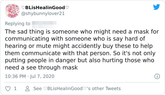 Sellers Of 'Breathable Masks' Get Called Out For Selling These Items Which Obviously Don't Work