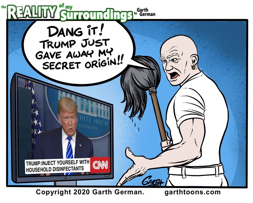 Secret Origin Of Mr. Clean