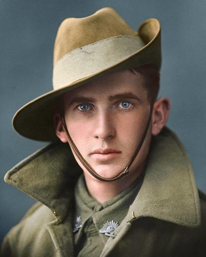 Soldado de la 1ª fuerza imperial australiana