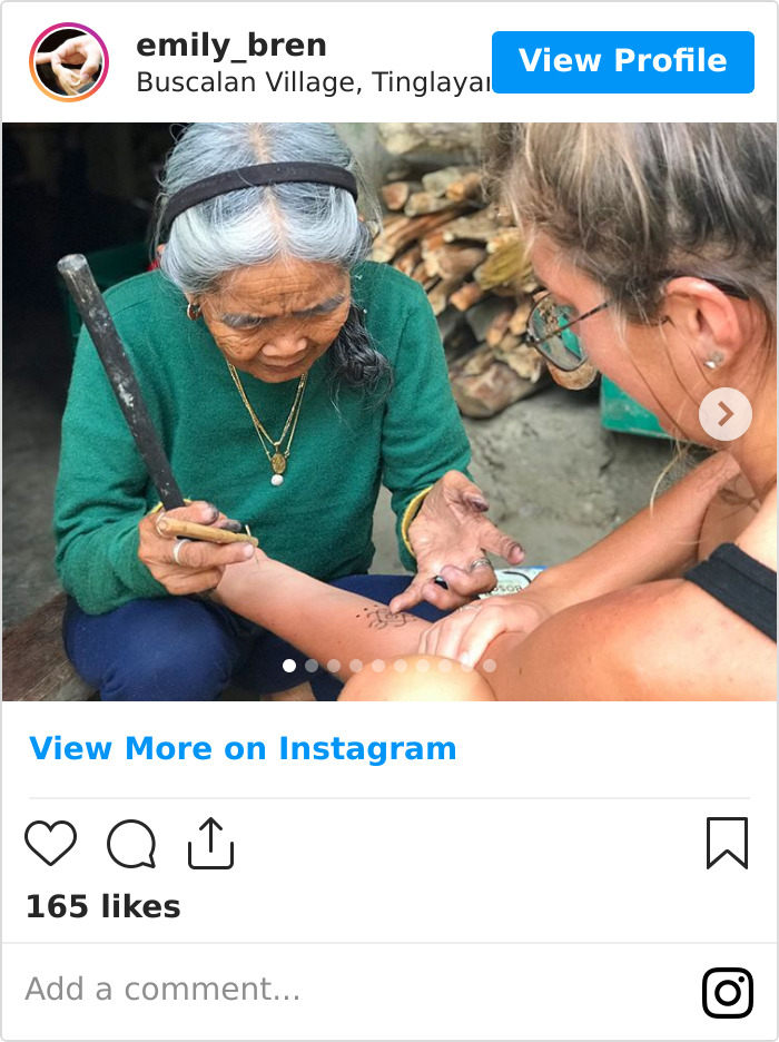 This 103-Year-Old Woman Is The Last Filipino To Preserve Ancient Tattoo Tradition