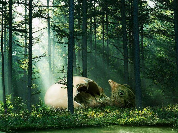Digital-Art-Contest-Oversized-Animals-Designcrowd