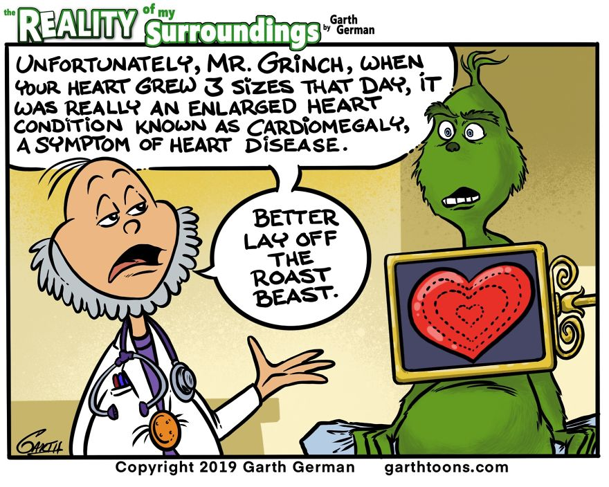 The Grinch's Heart Grew 3 Sizes That Day