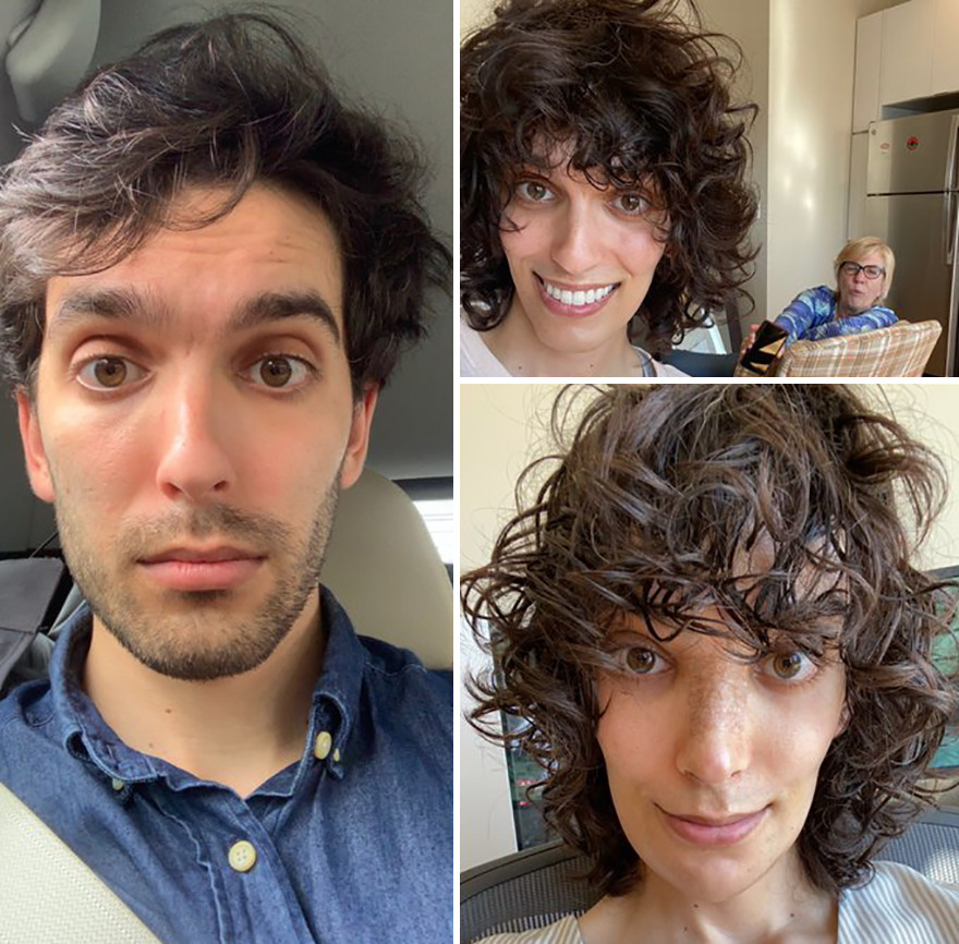 Woman Reveals Her Transition Photos After Taking Hormones For 14 Months