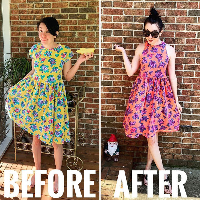 Woman Transforms Thrift-Store Clothes For $1 Into Elegant Outfits (30 New Pics)