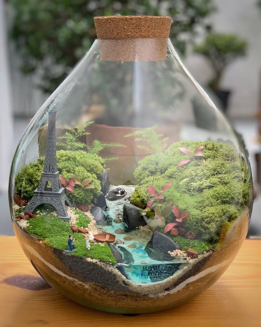 This Company Makes Incredible Micro Ecosystems In Pots And You Will Definitely Want One In Your Home