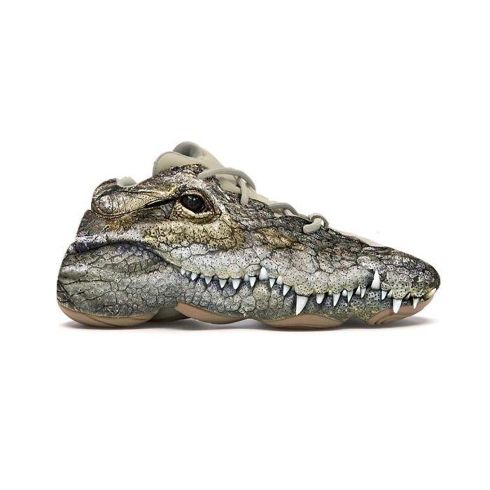 Yeezy 500 Croc