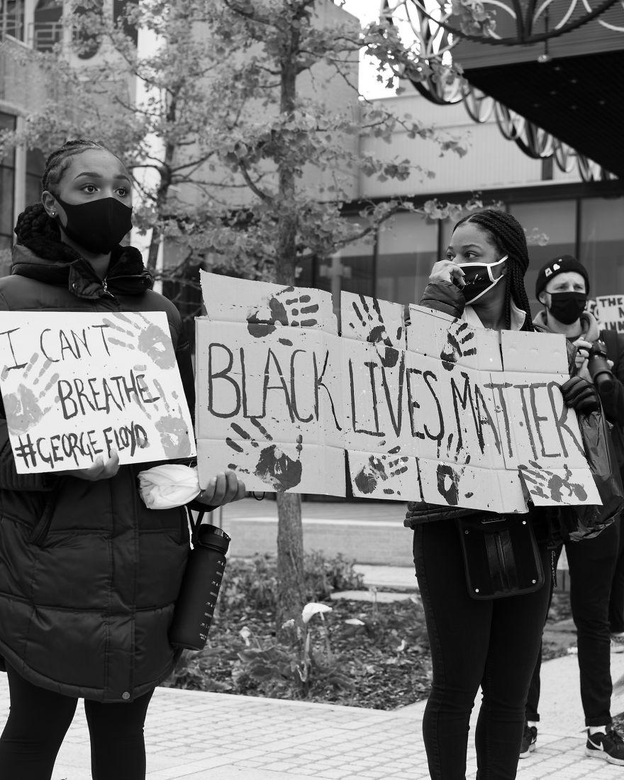 Black Lives Matter Protest, Birmingham