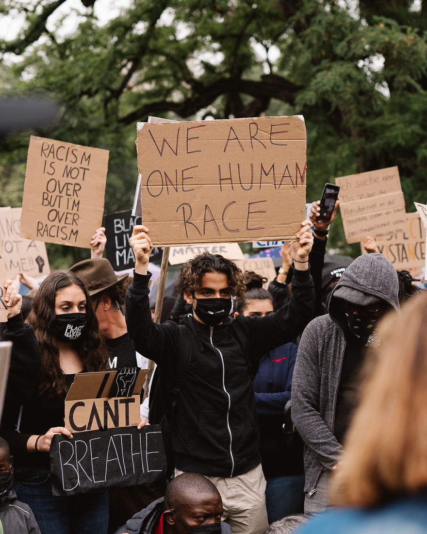 Protest Movement Against Racism In Germany