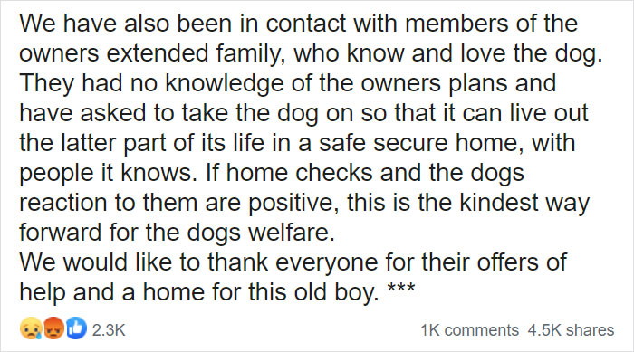 """""""I Haven't Learnt To Be Good"""": People Find An Abandoned Elderly Labrador With A Note"""