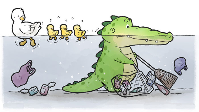 I Create Comics To Change The Perspective On Alligators (20 New Comics)