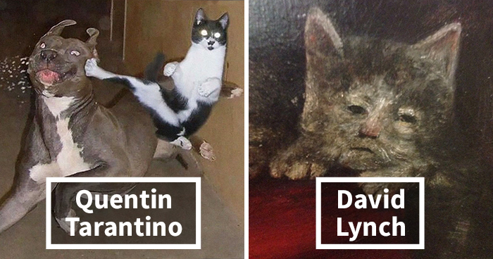21 Well-Known Movie Directors Reimagined As Cats