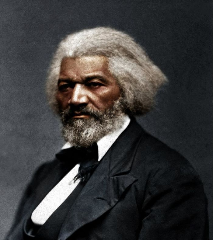 Frederick Douglass, Talented Orator And Frontspokesman Of Abolition. Escaped Slavery, And Led A Freedom-Movement