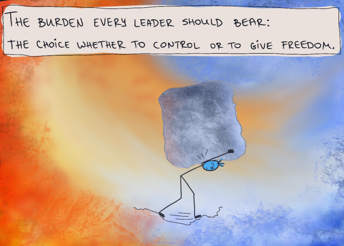 6 More Comics About Daily Struggles And Lessons From A Leader's Perspective