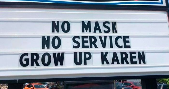 22 Funny, Straightforward Signs About The Coronavirus Situation Put Up By Shops And Restaurants