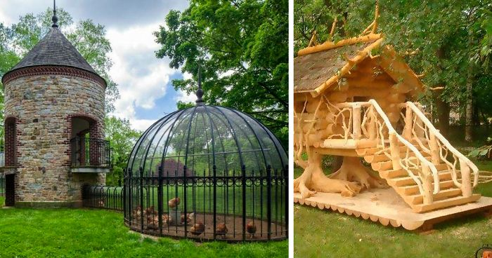 30 Times People Got Creative With Their Chicken Coops And Built These Gems