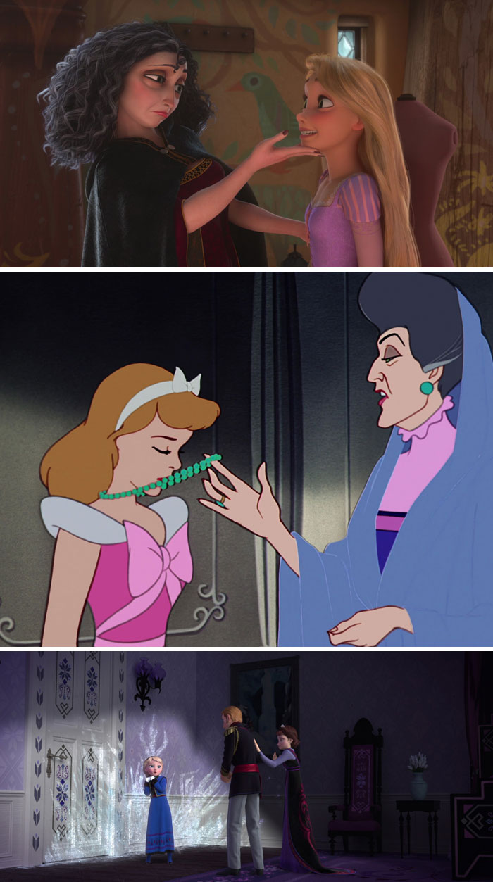 Tangled, Cinderella And Frozen