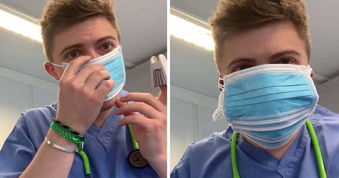 Doctor Puts On 6 Masks And Hooks Himself To An Oxygen Meter To Prove Anti-Maskers Are Talking Nonsense