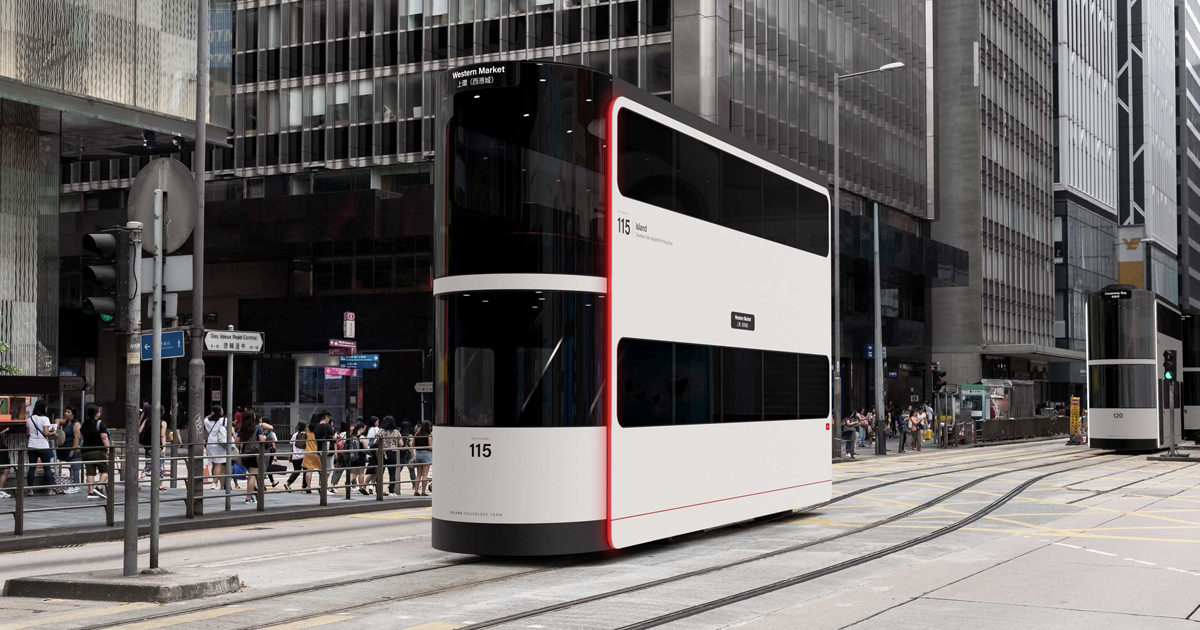 This Driverless Social-Distancing Tram Has An Interior That Limits The Spread Of Coronavirus