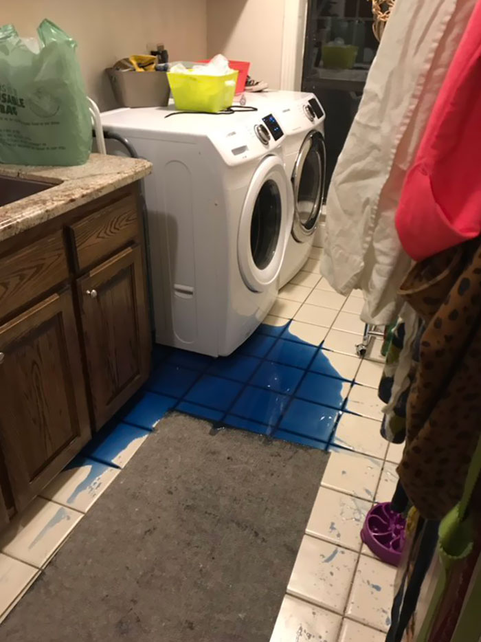 Washing Machine Shook The Detergent Off