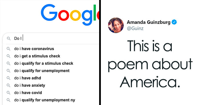 10 People Share Their Google Search Autofill Results About America And It's Crystal Clear That Things Are Not OK