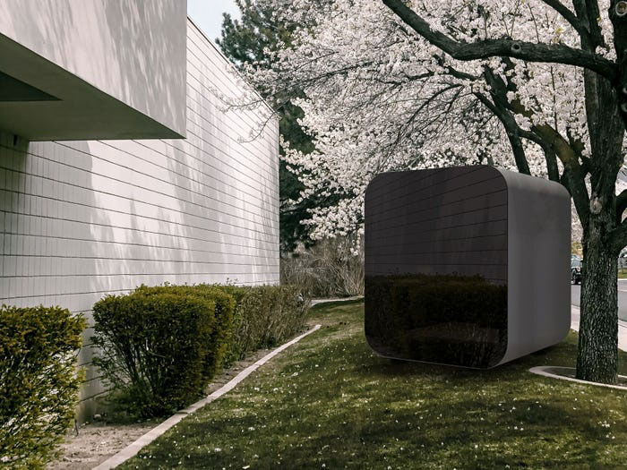 """This New Office Cabin Is Called """"Studypod"""" And You Can Place It In Your Backyard"""