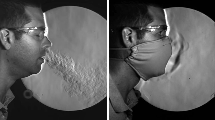 Slow Motion Video Shows How Well Different Masks Work To Stop The Spread Of COVID-19
