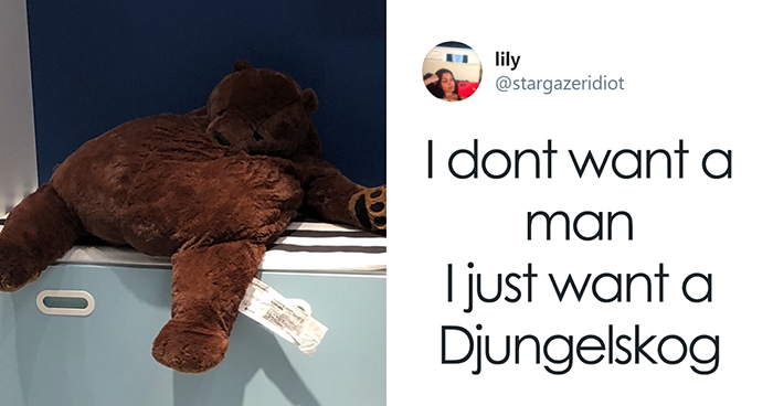 IKEA Released An Adorable Plush Bear And People Are Losing Their Minds Over It