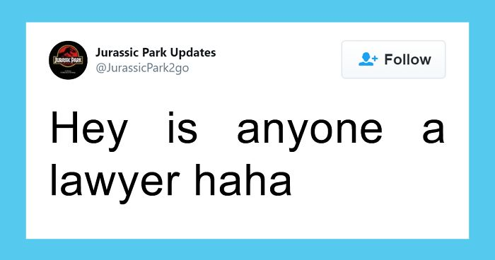 30 Funny Tweets From This Jurassic Park Parody Account