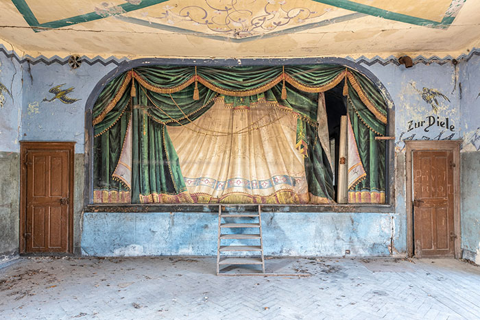 I Capture Abandoned Ballrooms Where Villagers Used To Swing Before The Fall Of The Wall In 1989