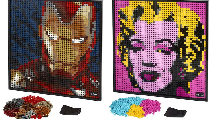 LEGO Launches Buildable Posters For $120 Each, And They Come With Their Own Unique Soundtracks