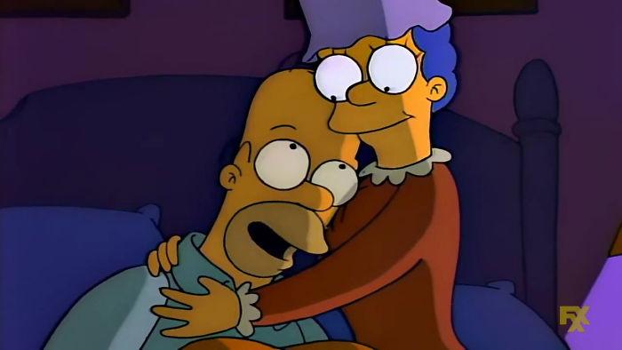 When Homer Went Bald Again