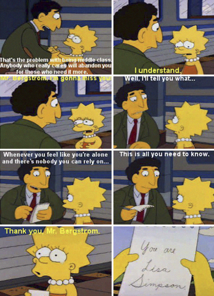 You Are Lisa Simpson