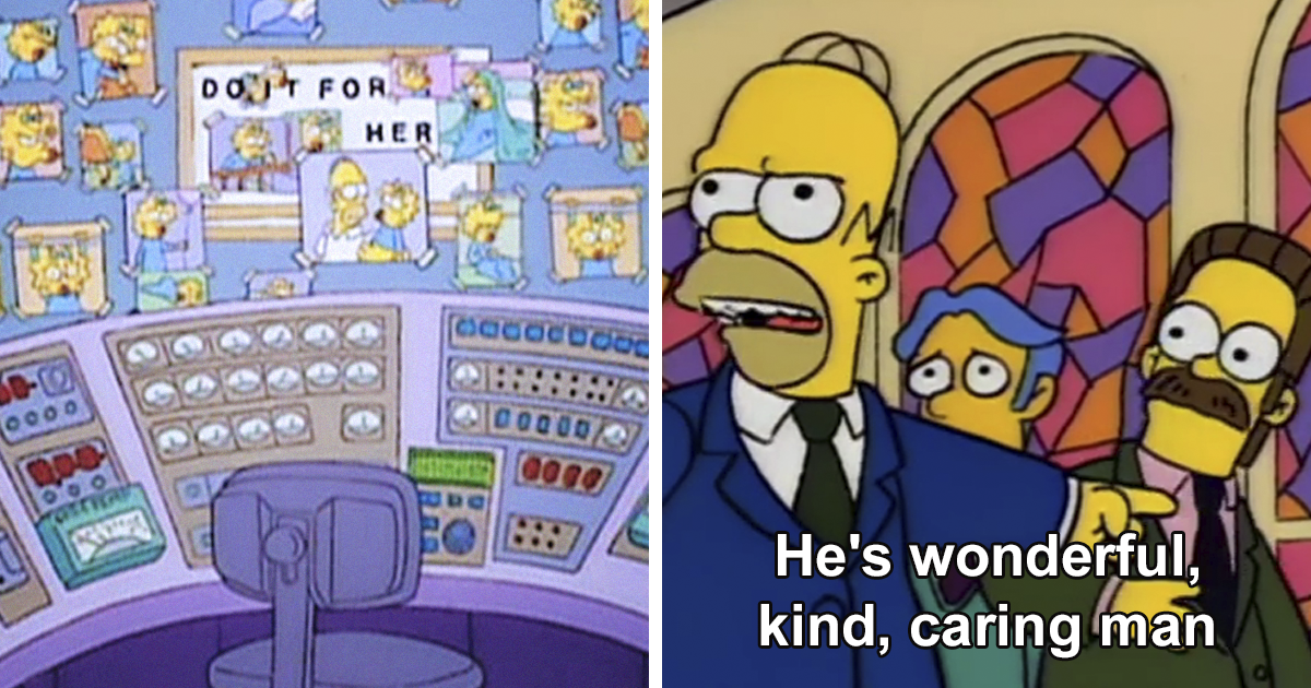 36 Of The Most Wholesome Things That Occurred On The Simpsons