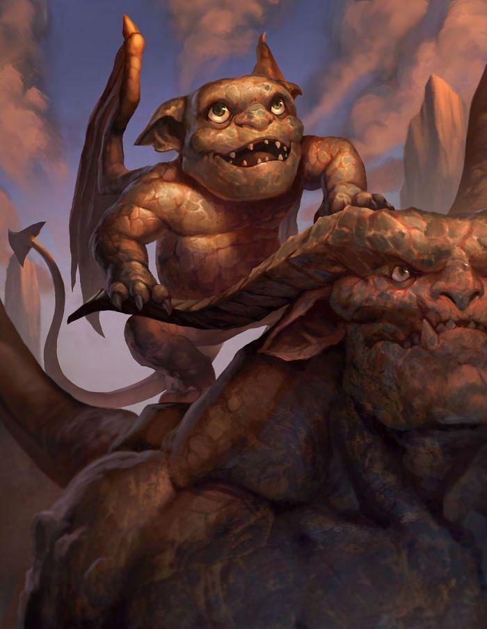 Gargoyle Mouldling